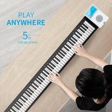 88 клавишный рулонный пианино цифровой midi контроллер синтезатор