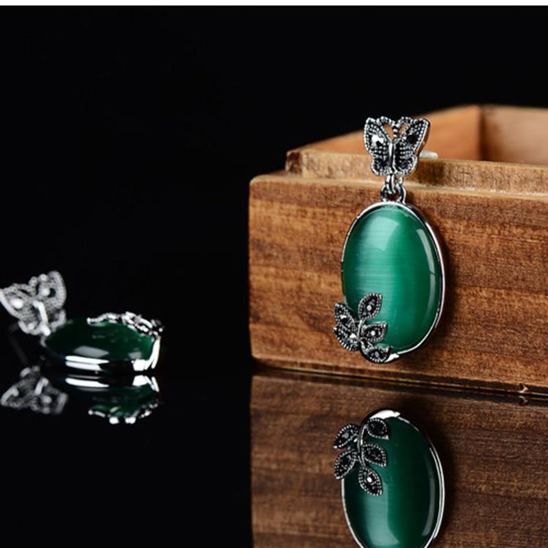 K- ի հարմարանքները Կանաչ օպալ - Նորաձև զարդեր - Լուսանկար 4
