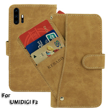 Vintage Leather Wallet UMIDIGI F2 Case 6.53