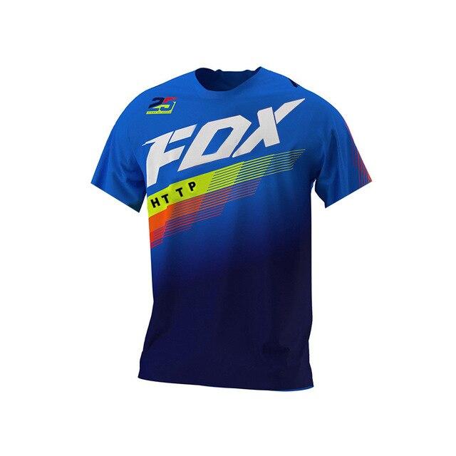 Camiseta de motocross masculino e mountain bike, atv, http fox 2021