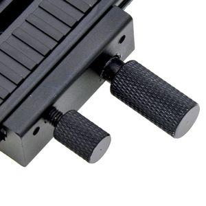 """Image 5 - 2 maneira móvel lp 01 macro com foco ferroviário slider para canon nikon sony pentax dslr câmera 1/4 """"parafuso com foco acessórios"""