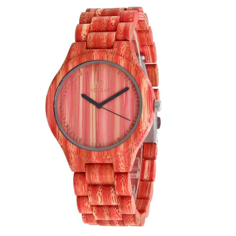 2020 Top Fashion New Arrival When Redear Into Color Bamboo Watch Fashion Lovers Spot A Substituting Manufacturer