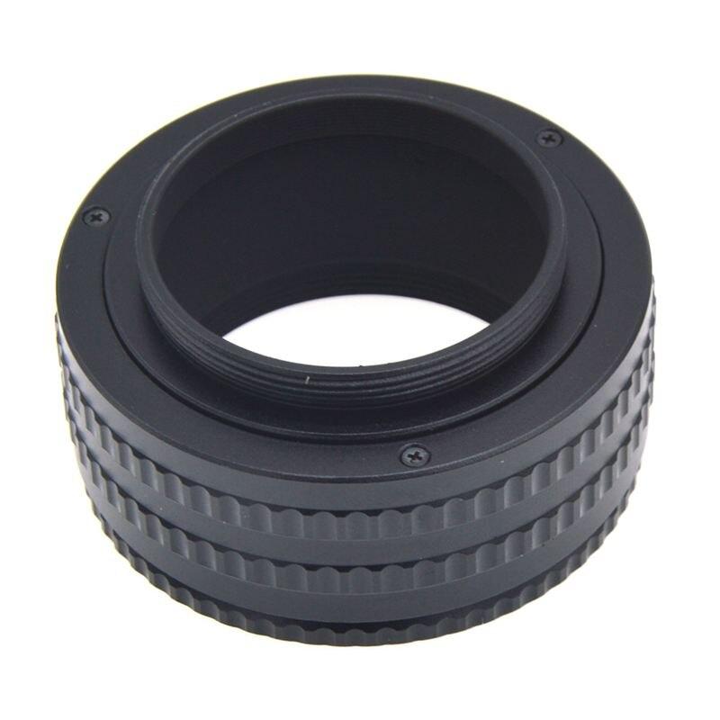 Adaptador de focagem ajustável 25-55mm do tubo macro do helicoid da lente da montagem m42 a m42