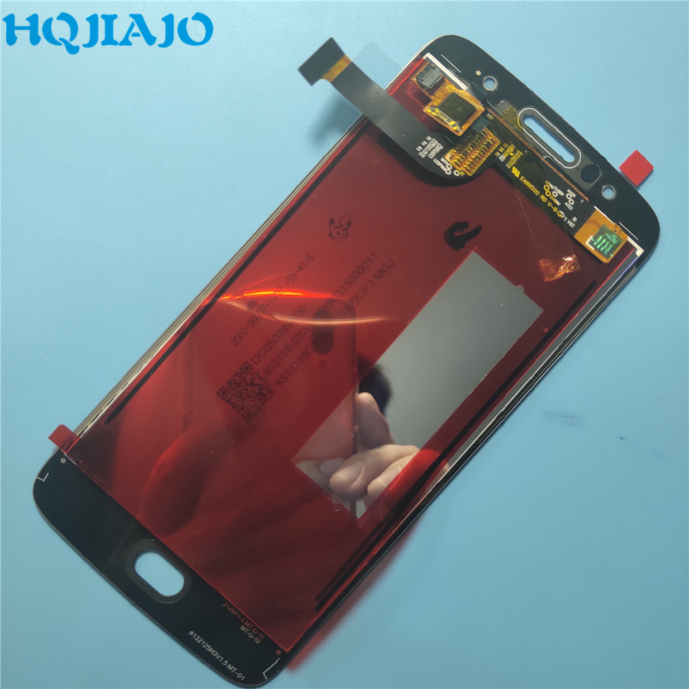 10Piece/lot Original <font><b>LCD</b></font> Screen For Motorola Moto G5S XT1793 XT1794 <font><b>XT1792</b></font> <font><b>LCD</b></font> Display Touch Screen Digitizer Replacement image