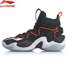 (Código de quebra) li-ning men power vi premium profissional sapatos de basquete almofada luz forro de espuma nuvem sapatos esportivos abaq011