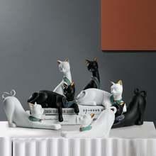 Аксессуары для украшения дома с изображением египетского кота