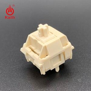 Image 5 - Kailh Cream Mechanical Keyboard Switch liner hangfeeling MX switch 5pin