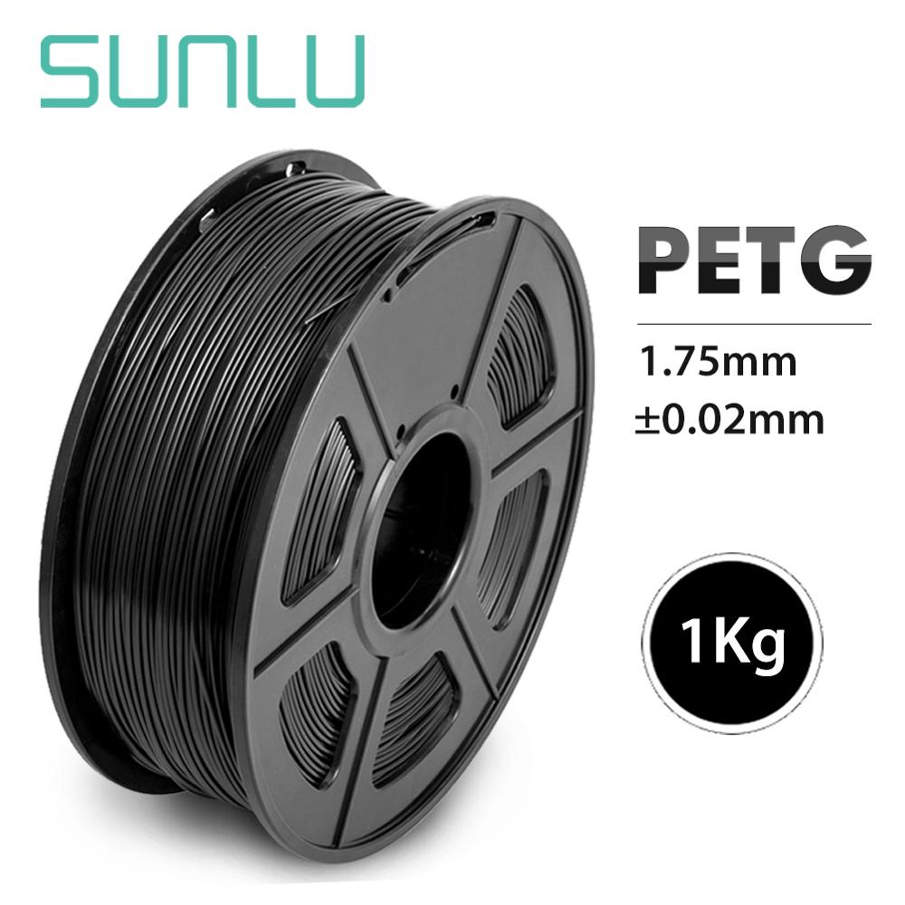 High Transparency PETG Filament 3D Printer 1.75MM Good Toughness PETG Refill 1KG With Spool Lampshade Consumable Material
