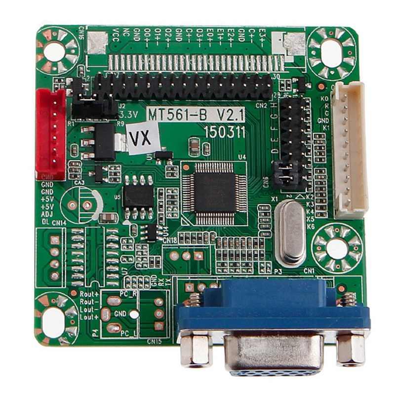 MT561-B Placa de controlador de Monitor LCD para 8-42 pulgadas 5V Universal ancho LVDS para MT6820 GOLD-A7