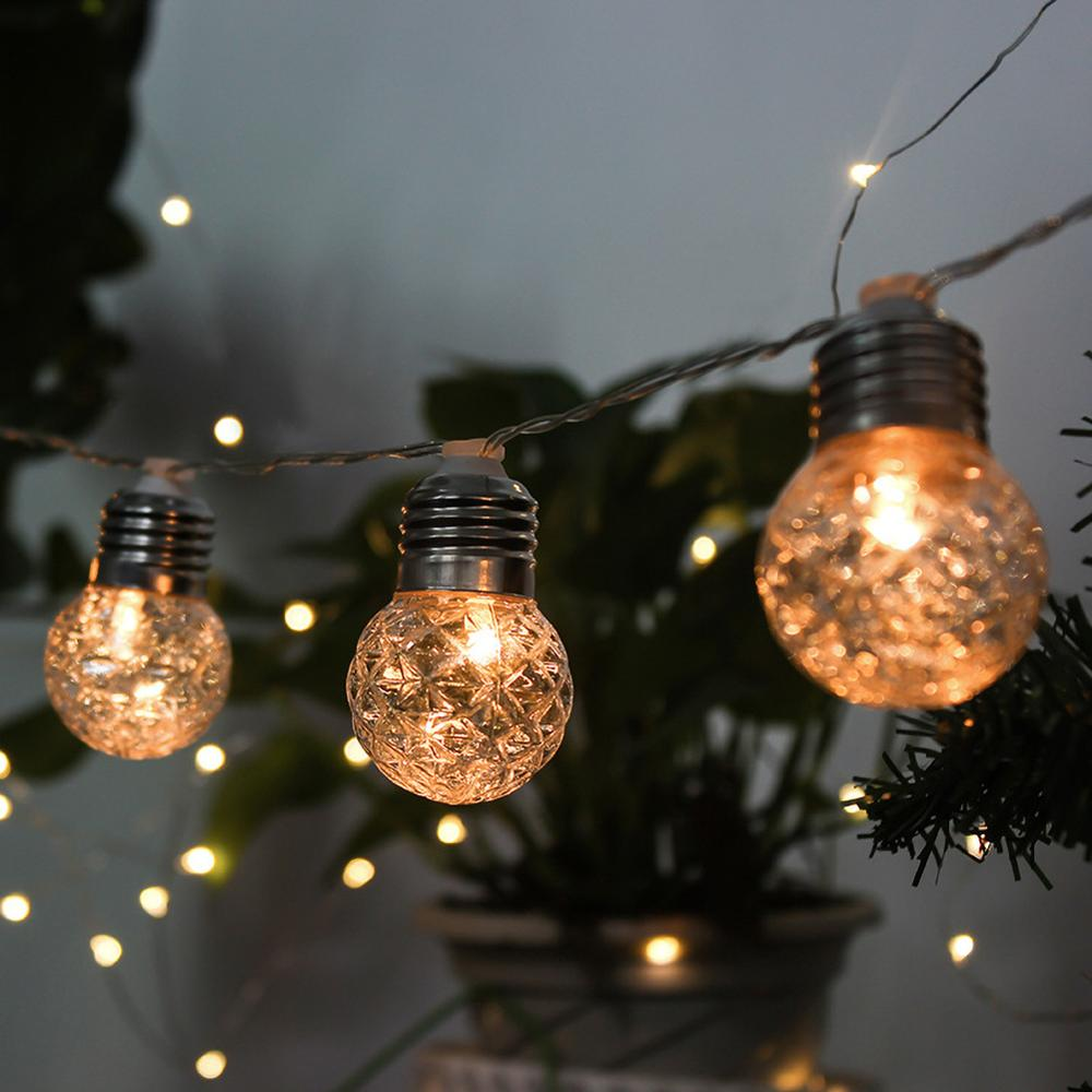 New 10/20 LEDS Pineapple 3.8M/6M Solar Lamp Power LED String Fairy Lights Solar Garlands Garden Christmas Decor For Outdoor