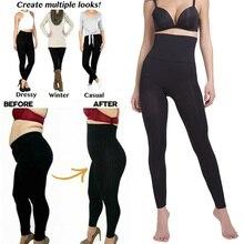 Slimming Leggings Panties Tummy-Control Skinny High-Waist Women Sleep Sculpting