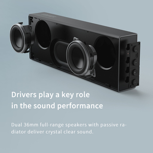 Image 3 - EDIFIER MP120 bluetooth speaker Support TF Card AUX Input CNC Technology Dual full range bluetooth 5.0 speakers