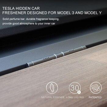 Для Tesla Model 3 Y твердый долговечный Ароматерапевтический автомобильный освежитель воздуха для автомобиля|Освежитель воздуха|   | АлиЭкспресс