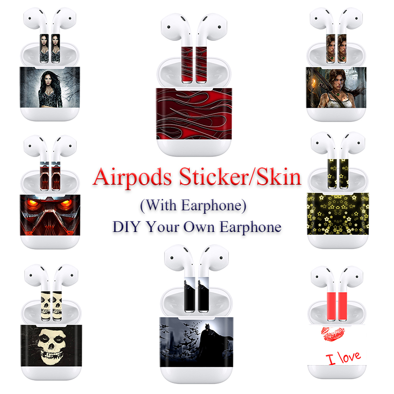For Apple AirPods Stickers Protective Decal Skin In Stock