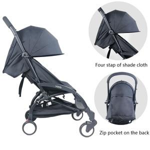 Image 3 - 3 יח\סט עגלת כיסוי וכרית אוקספורד חזרה רוכסן כיס תינוק עגלת אביזרי עבור Babyzen yoyo יויה Babytime עגלת