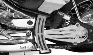 Image 4 - Motorrad Chrome Schädel Antriebswelle Abdeckung Für Yamaha Dragstar V Stern XVS650 98 17 XVS1100 98 09 classic Custom
