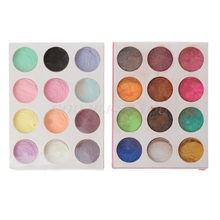 Dye Superfine-Powder Mica Pearl Pigment Jewelry-Colorant Resin 12-Color/Set Dye-Craft