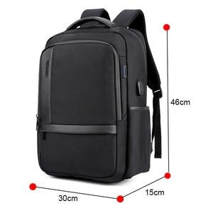 Image 4 - ARCTIC HUNTER Waterproof Men Laptop Backpack USB Charge School Backpack Large Capacity Mochila Casual Male Travel Bag