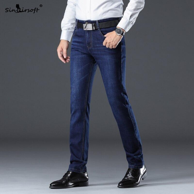 2019 Pantalones De Mezclilla De Moda Para Hombre Pantalones Rectos Casuales Nuevos Productos De Algodon De Marca Suave Jeans De Gran Tamano Los Hombres 28 40 Pantalones Vaqueros Aliexpress