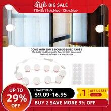 Косметическое зеркало туалетный светодиодный светильник, набор ламп, usb порт для зарядки, косметический светильник, регулируемый косметический светильник, зеркальный светильник s