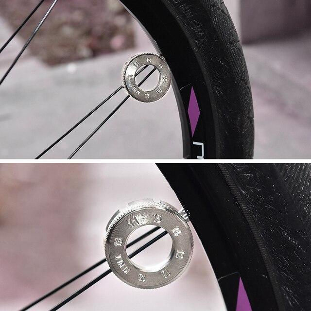CyclingDeal Bike Bicycle Wheel Rim Spoke Nipple Driver Tool Rim Depth Up to 40mm