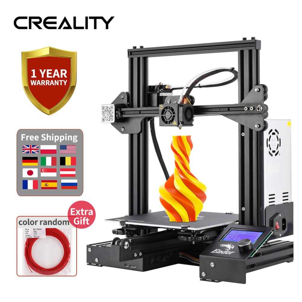 Ender-3/Ender-3x3d-Printer-Kit Ship Creality 3d From-us/russia/spain/.. title=