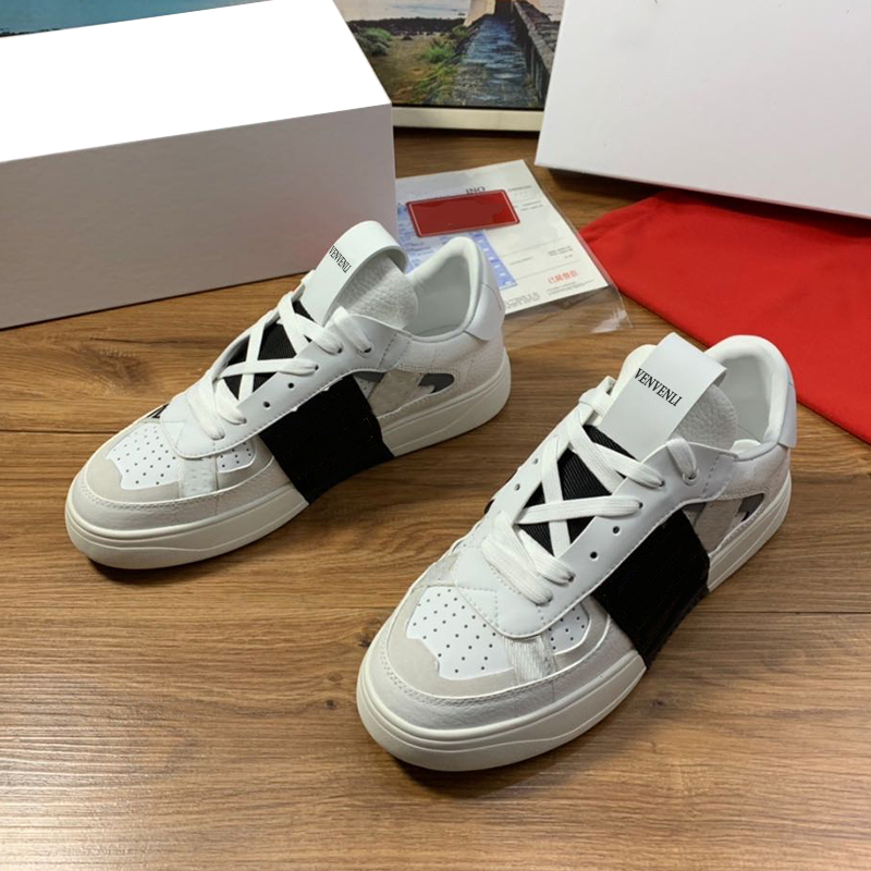 French Vvl Fashion Sneakers Men's Shoes Counter Quality Latest Imported Cowhide Sheepskin Lining Fine Workmanship Fine Packaging