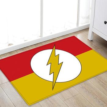 Drop Shipping Marvel The Avengers Plush Carpet Iron Man Captain America Spider man Rug Mat Cotton