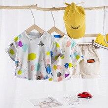 Boys Clothes Toddler Boy Kids Casual Summer Fashion Cartoon Sets Shirt Short Pants