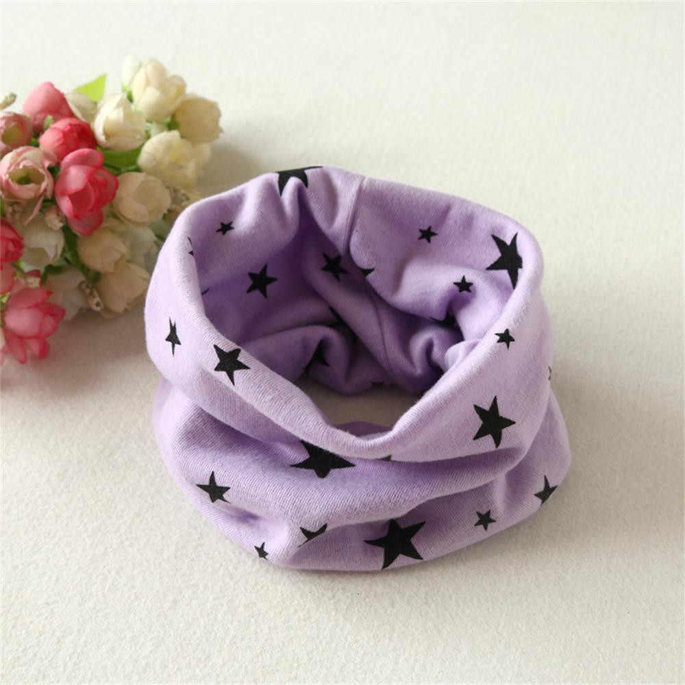 男の赤ちゃんスカーフ秋冬ボーイズガールズ襟ベビースカーフ綿 O リングネックスカーフ ##0