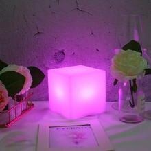 Умный квадратный ночсветильник с функцией смены цвета usb зарядкой