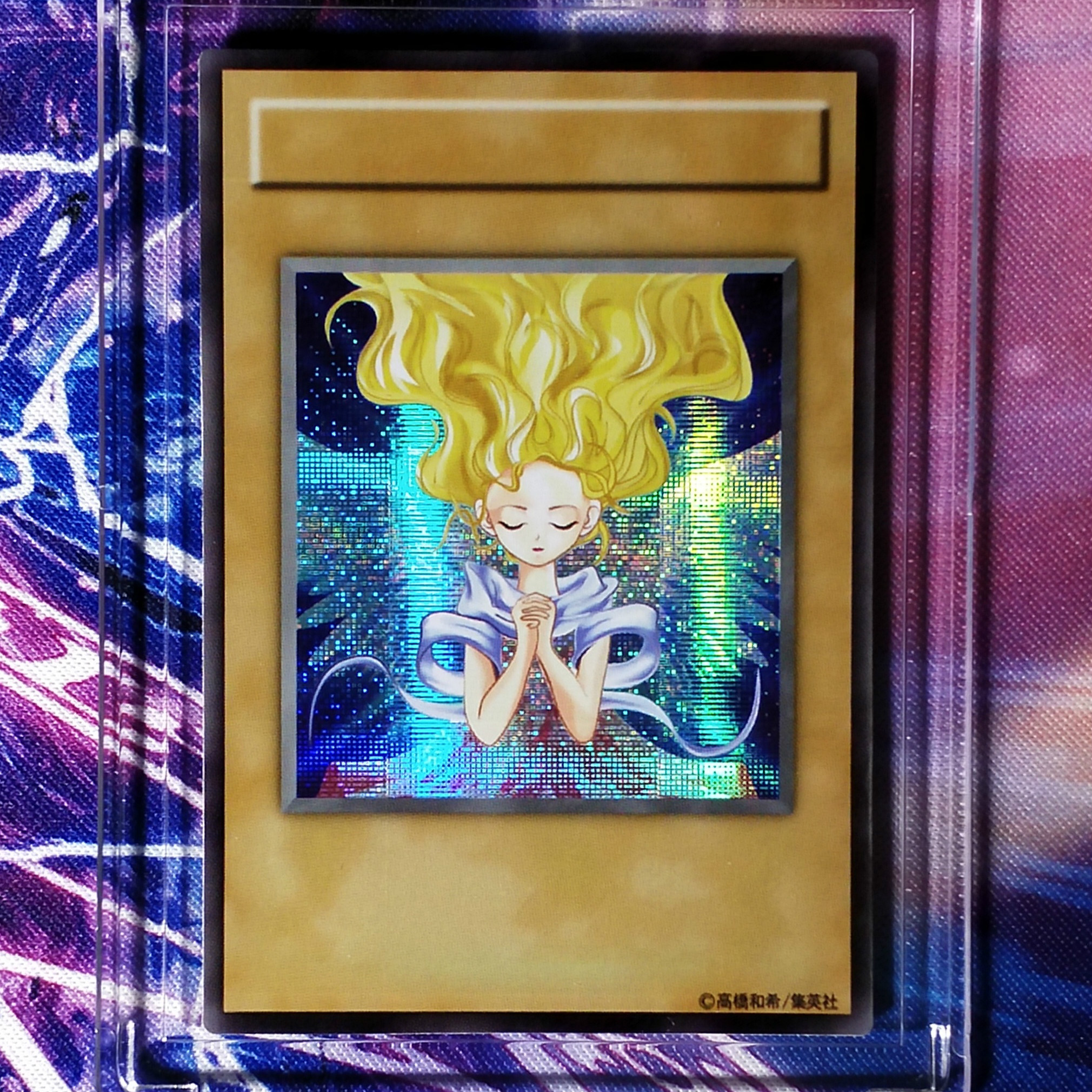 Yu Gi Oh Early Love Edition Rebecca Hawkins DIY Colorful Toys Hobbies Hobby Collectibles Game Collection Anime Cards
