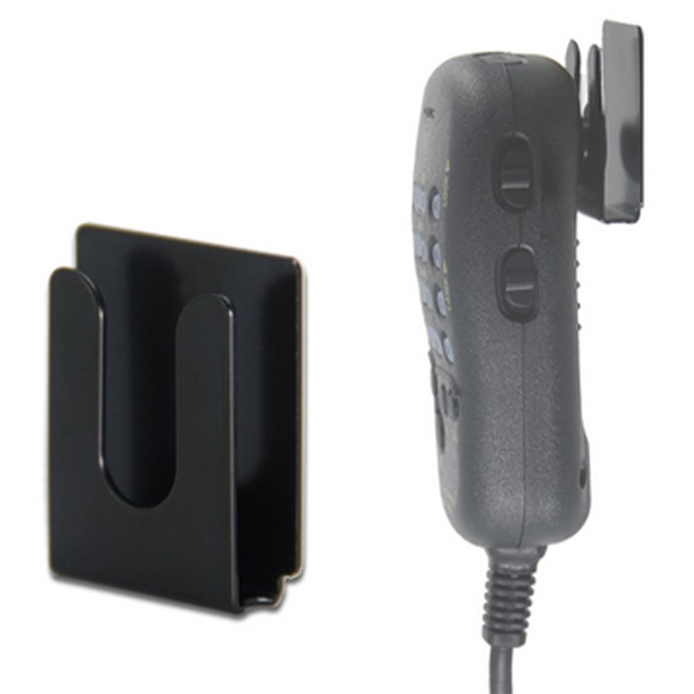Metal Hook Bracket Car Platform Hand Microphone Hanger Outdoor Anti-resistance Repairing Parts for Yaesu Wouxun Kenwood 7900