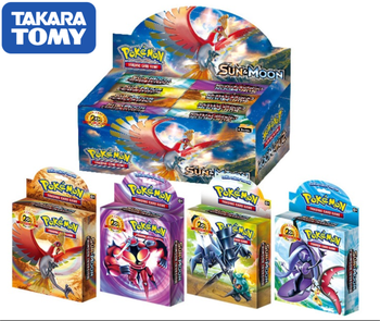408pcs TAKARA TOMY Pet Pokemon Cards  High-end Gift Box Pokemon Cards   The Toy of  Children 1