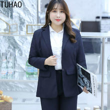 2020 Spring Summer Plus Size 9xl 8XL 7XL Blazer Jackets for Women Suit Fashion Work Style Suit Ladies OL Blazer Outerwear Mujer(China)