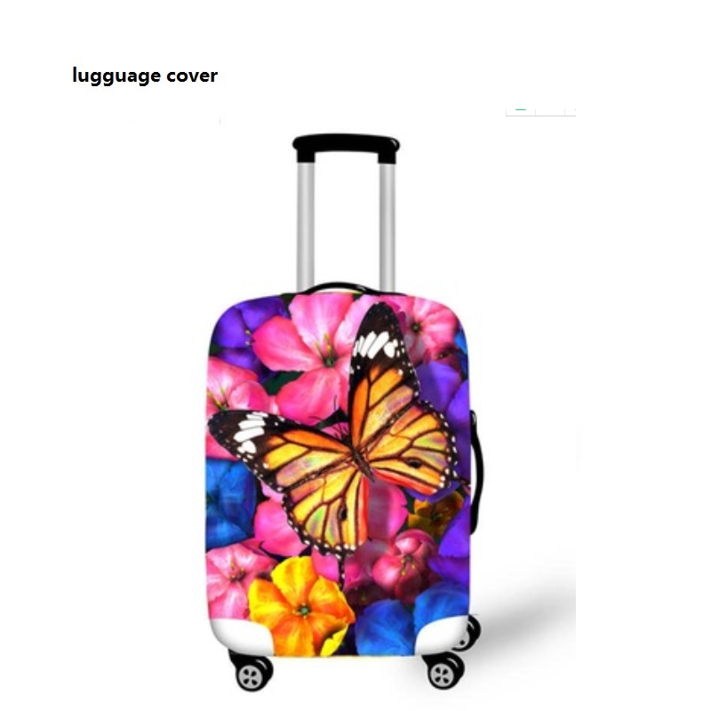NEW  Elastic Fabric Luggage Protective Cover, Elastic  Luggage Suitcase Trolley Case Cover Waterproof Dust Protector