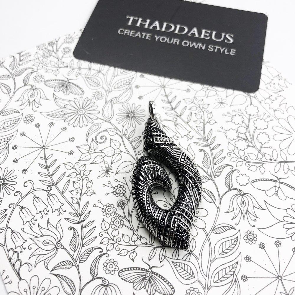 Pendant Hook Ethnic Maori,2019 Fashion Ethnic Jewelry Thomas Solid 925 Sterling Silver Bijoux Gift For Ts Woman & Rebel Men 6