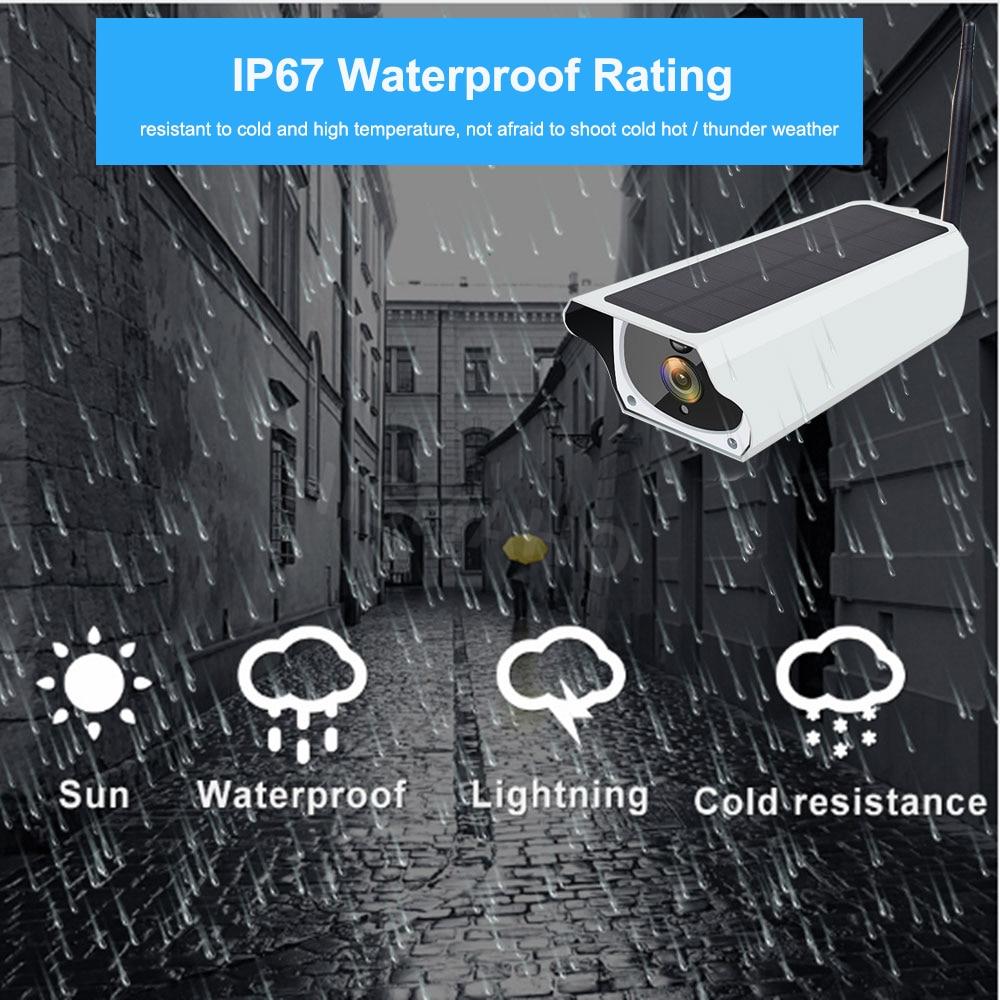 èCloseout DealsSolar WiFi IP Camera 1080P HD Outdoor Charging Battery Wireless Security Camera PIR Motion Detection Bullet Surveillance CCTV╡