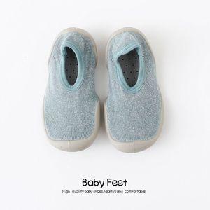 Модная обувь для маленьких мальчиков, мягкие резиновые носки, обувь для малышей, младенцев, девочек, тапочки для первых шагов, нескользящая Детская уличная повседневная обувь|Обувь для детей с мягкой подошвой|   | АлиЭкспресс