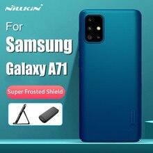 Nillkin-funda rígida trasera para Samsung Galaxy A71, carcasa de protección súper esmerilada, For Samsung A71 con paquete al por menor