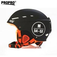 Pro-ski – casque de sécurité en plein air ABS + EPS, Snowboard, Skateboard, hommes et femmes adultes, hiver, casque de sport chaud