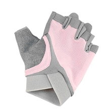 Дышащие Фитнес перчатки на пол пальца спорта на открытом воздухе для верховой езды Йога удобные легкие незаметной силиконовой противоскользящей вставкой на подошве, перчатки