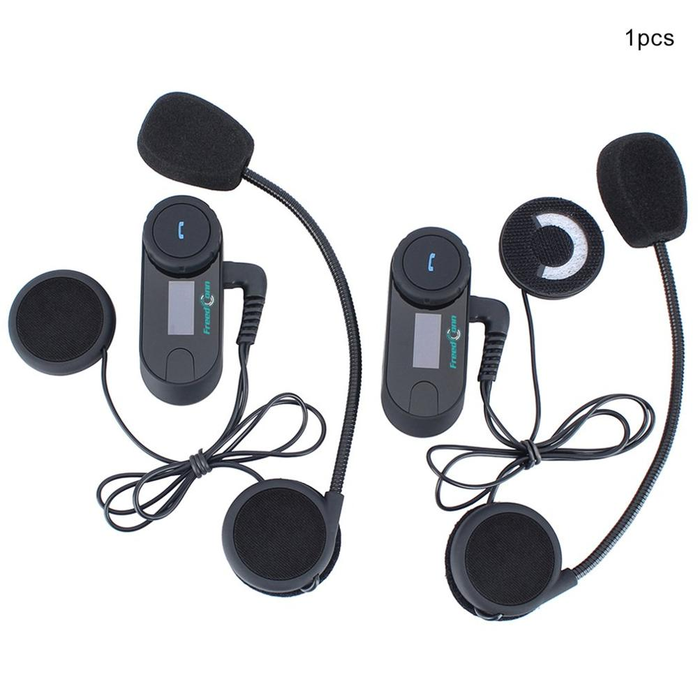 With Screen 800 Meters Motorcycle Wireless Headset Helmet Walkie Talkie Helmet Walkie Talkie Intercom System
