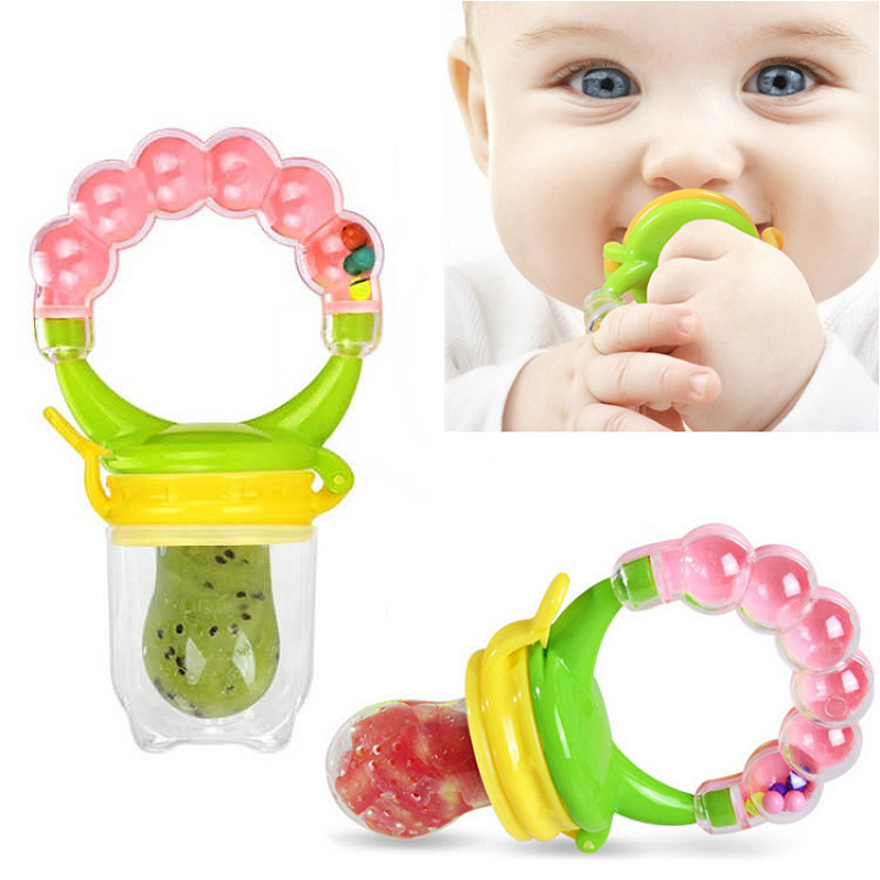 1pcs Biting Juice Pacifier Fresh Food Nibbler Silicone Baby Infant Fruit Feeder Toddler Baby Feeding Pacifier Newborn Nipple 4