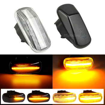 LED Side Marker Lights Turn Signal lamp For Honda Fit Jazz Stream HRV S2000 Odyssey Integra Acura RSX NSX CRV Accord Civic City image