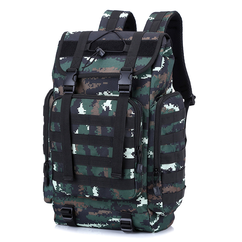 Outdoor Special Forces Camouflage Tactical Backpack 3D Travel Hiking Camping Mountaineering Bag Riding Backpack Men And Women