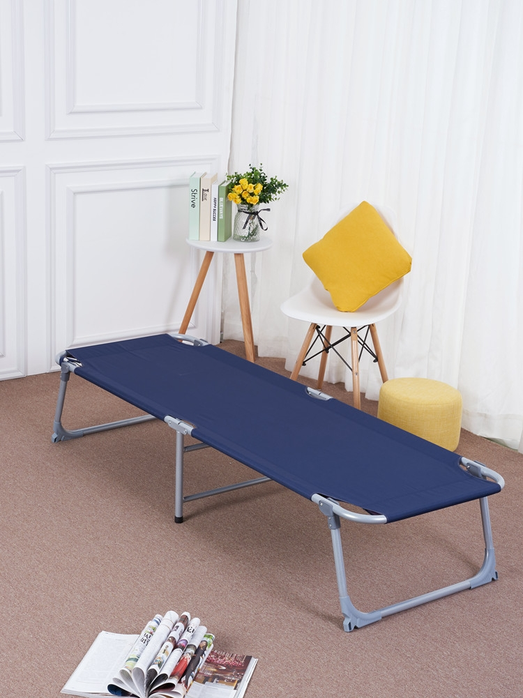 Folding Sheets People Use Adult Simple Invisible Canvas Economical Portable Lunch Break Office Nap Bed