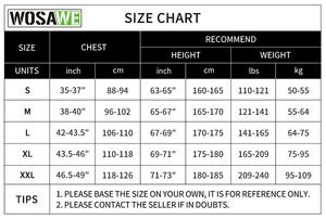 Image 5 - WOSAWE Mens Autumn Winter Cycling Jersey Long Sleeve Sun protective Road Bike Tops MTB Jersey Bicycle Clothing Hombre Wear