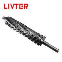 Cabeza de cortador de cepilladora helicoidal para cepillar con cuerpo de aluminio