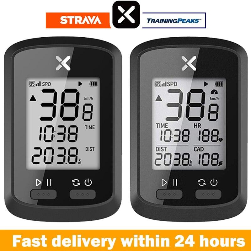 XOSS велосипедный компьютер G + беспроводной GPS Спидометр Водонепроницаемый дорожный велосипед MTB велосипедный Bluetooth ANT + с Cadence велосипедные ко...